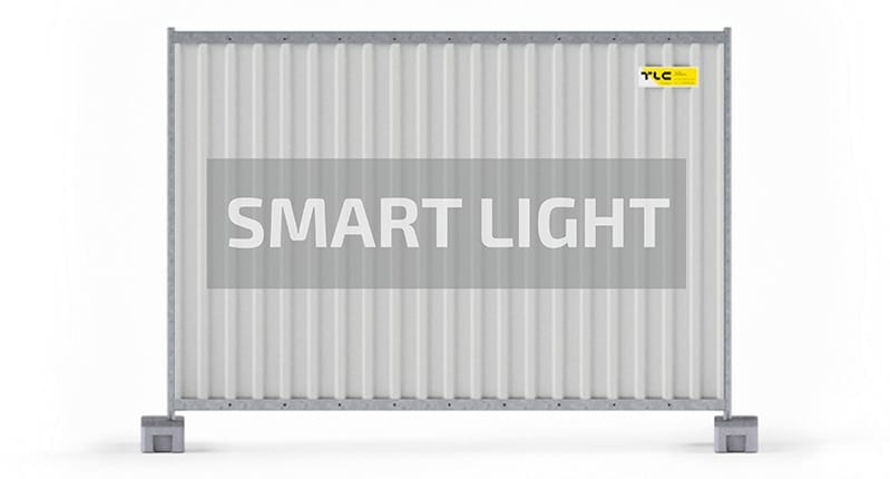 Ogrodzenia przenone SMART LIGHT