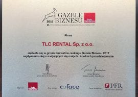 Gazele Biznesu TLC Rental