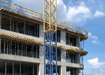 Zabezpieczenie krawędzi EPS Mostostal Warszawa Libra Business Center II