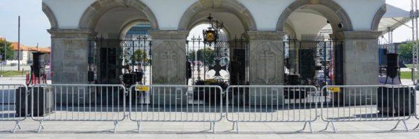 TLC barierka CITY Grób Nieznanego Żołnierza Dzień Weterana
