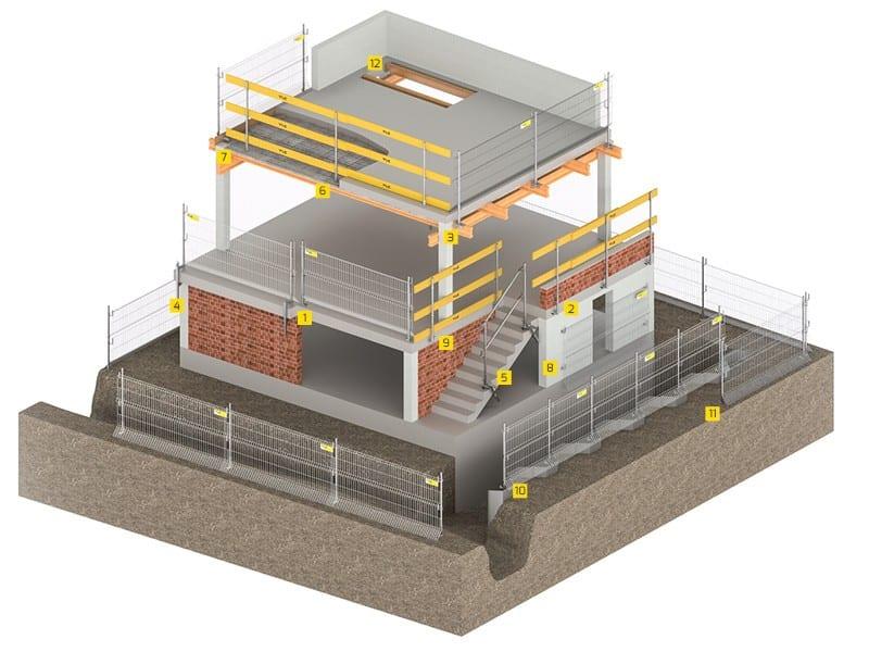 Zabezpieczenia krawędzi budynków EPS
