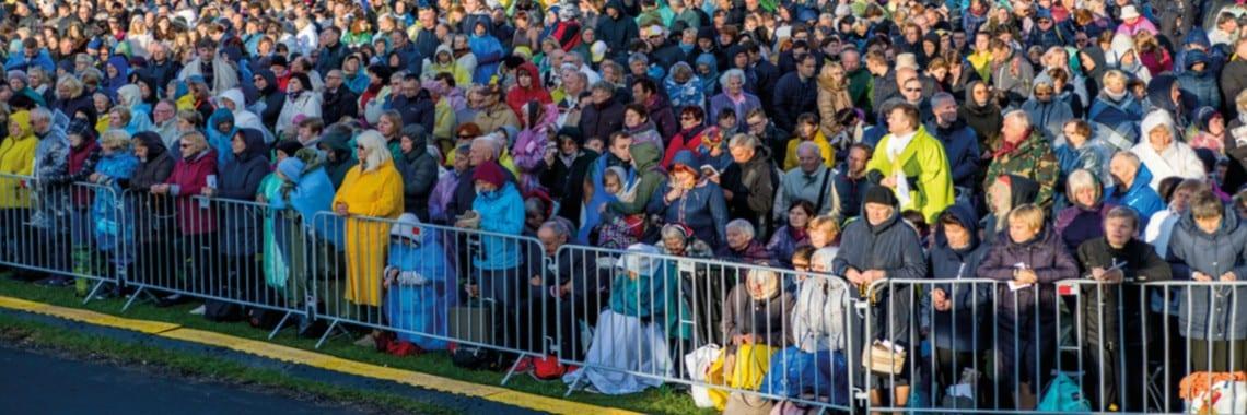 Wizyta papieża Franciszka - Litwa, Kowno - TLC Rental