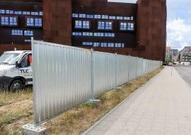 Ogrodzenia ażurowe Gdynia realizacja Sea Towers