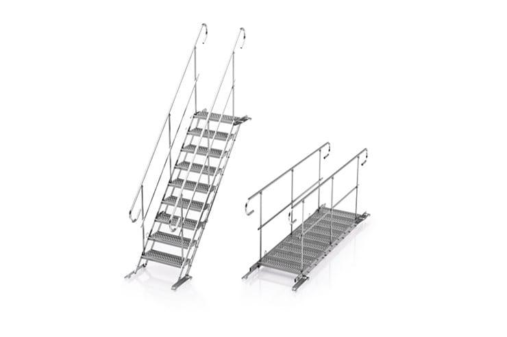 Wynajem schodów tymczasowych