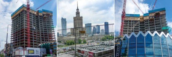Zabezpieczenie krawędzi budynków Warszawa