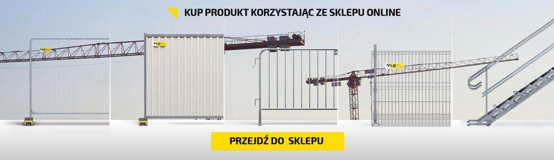 Sprzedaż ogrodzeń budowlanych