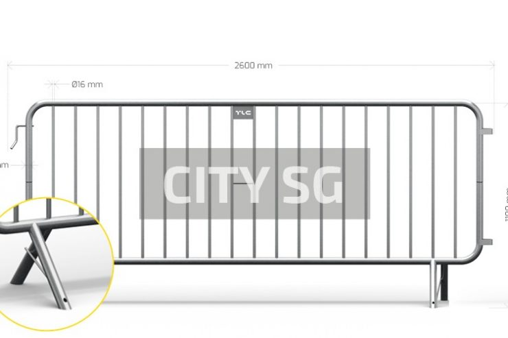 Barierki zabezpieczające CITY SG