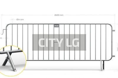 Barierki zabezpieczające CITY LG