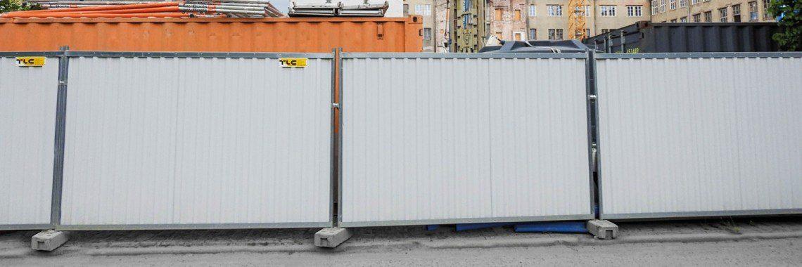 Ogrodzenie placu budowy