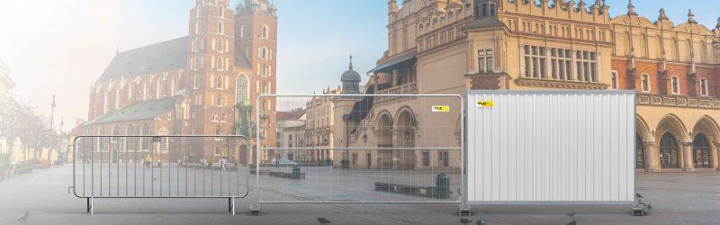 Wynajem ogrodzeń budowlanych w Krakowie