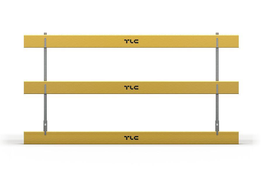 Wykonane z tarcicy obrzynanej, standardowo deski są malowane w kolorze żółtym, a impregnacja zapewnia odporność na warunki atmosferyczne. Opcjonalnie dostępne z własnym logo.